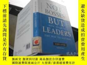 二手書博民逛書店NOT罕見BOSSES BUT LEADERSY205889 出
