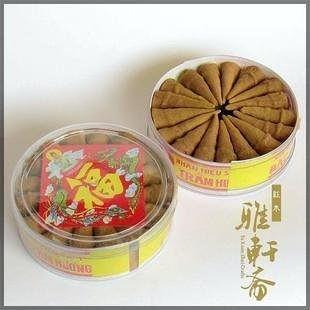 天然沉香塔香/100%純沉香木粉制作/無香料合成大號