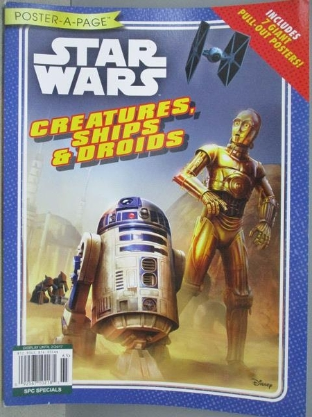 【書寶二手書T1/嗜好_ZIZ】STARWARS_Creatures, Ship&Droids