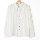 【MASTINA】波浪尖領襯衫-白 好康優惠