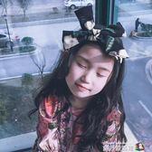 N.STORE定制 女童花朵髮帶兒童髮箍 寶寶髮飾髮繩大人可戴可親子 魔方數碼館