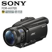 【24期0利率】SONY FDR-AX700 4K HDR DV 攝影機 AX700 12X光學變焦 公司貨