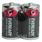 【奇奇文具】永備 黑金剛 電池  永備黑金鋼/永備黑貓碳梓電池 C NO.2號電池 2入/封 (收縮膜)