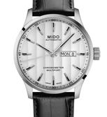 MIDO美度錶Multifort Chronometer天文台自動機械錶(M0384311603100)白面/42mm