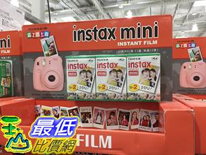 [COSCO代購] C1084715 FUJIFILM 富士MINI拍產得空白底片60張 INSTAX INSTANT FILM 60CT
