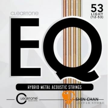 CLeaRTone EQ(0.12-0.53)美製民謠吉他弦/木吉他弦 混合金 【CLeaRTone吉他弦專賣店/進口弦/7812】