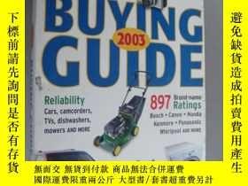 二手書博民逛書店BUYING罕見GUIDE 2003Y146810 Consum