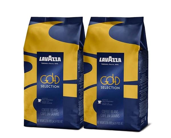 LAVAZZA Gold Selection 咖啡豆 1kgX2包優惠組