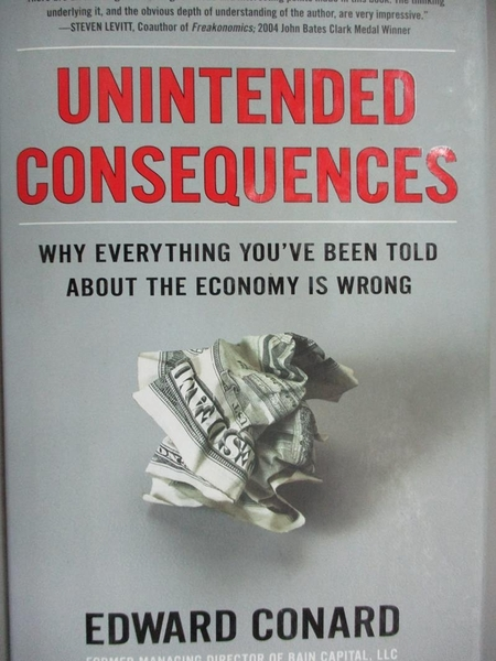 【書寶二手書T4/歷史_ZEE】Unintended Consequences: Why Everything You'