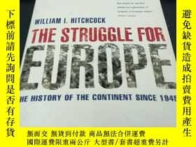 二手書博民逛書店THE罕見STRUGGLE FOR EUROPEY254800