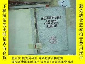 二手書博民逛書店REAL-TIME罕見SYSTEMS AND THEIR PRO