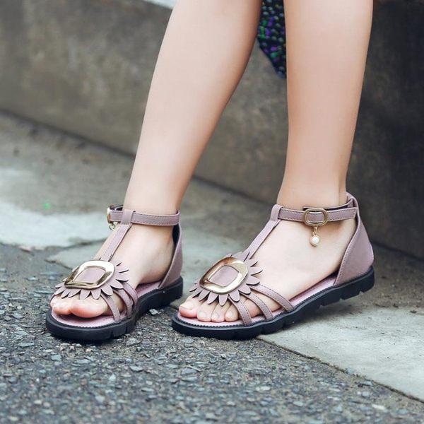 兒童女涼鞋新款寶寶童鞋女童公主鞋小女孩正韓【快速出貨中秋節八折】