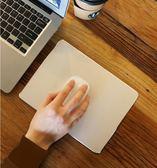 滑鼠墊 金屬滑鼠墊蘋果鋁合金小號硬質電腦小米創意黑色簡約可愛女生ins