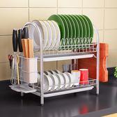 不銹鋼廚房架碗筷碗碟架瀝碗架放盤置物架