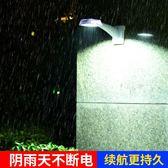 太陽能燈戶外家用超亮庭院燈新農村路燈LED壁燈防水室內圍墻燈igo貝兒鞋櫃