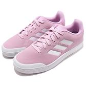 【四折特賣】adidas 休閒鞋 Court 70s 粉紅 白 麂皮鞋面 基本款 女鞋 運動鞋【ACS】 B96218