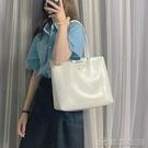 手提包 高級感包包洋氣大容量單肩包女新款韓版百搭手提包簡約托特包 【618特惠】
