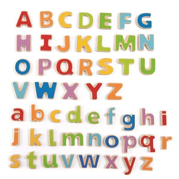 【免運費】《德國HAPE愛傑卡》ABC 磁鐵字母 ╭★ JOYBUS玩具百貨