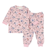 【愛的世界】溜冰小女童長袖套裝/6個月~4歲-台灣製- ★幼服推薦