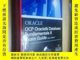 二手書博民逛書店Oracle罕見ocp oracle9i database fundamentals 2 exam guide