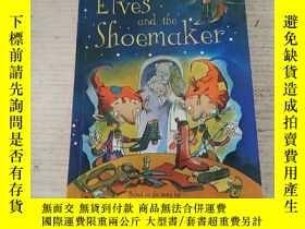 二手書博民逛書店THE罕見ELVES AND THE SHOEMAKER:精靈和