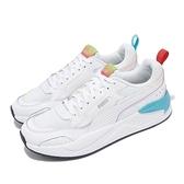 Puma 休閒鞋 X-Ray 2 Square Rainbow 白 藍 紅 男女鞋 老爹鞋 【ACS】 36885601