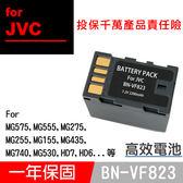 特價款@攝彩@JVC BN-VF823U 副廠電池 BNVF823 數位攝影機 保固一年 GZ HD3 HD30