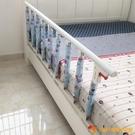 可折疊嬰兒童床護欄防摔圍欄6檔寶寶不鏽鋼床護欄老人床護欄防掉床邊欄桿【小獅子】