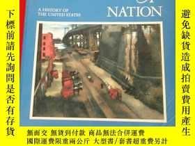 二手書博民逛書店A罕見PEOPLE & A NATION: A HISTORY