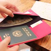 【FENICE】多功能護照收納夾(桃紅)