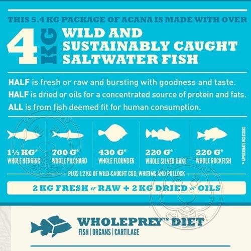 📣此商品48小時內快速出貨🚀》愛肯拿》太平洋饗宴挑嘴貓無穀配方(多種魚+玫瑰果)全新配方-5.4kg