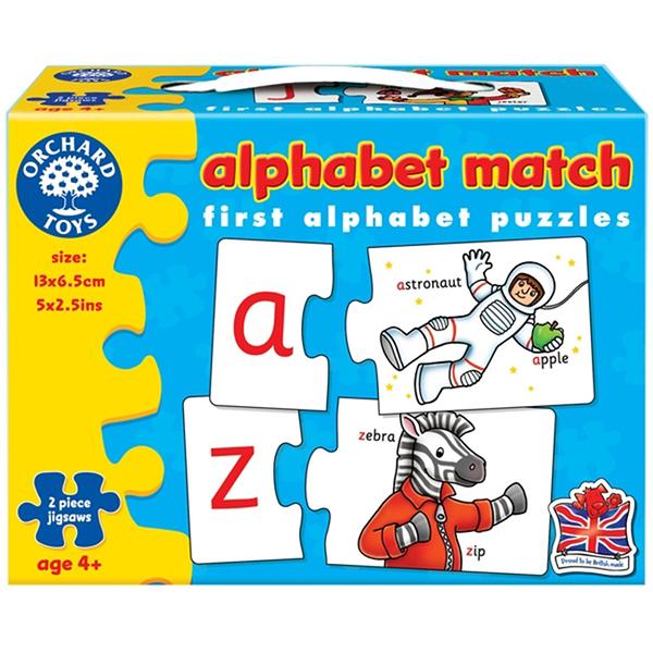 【英國 Orchard Toys】遊戲拼圖-字詞配對 OT-222