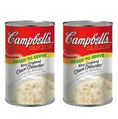 【 現貨 】Campbell's 金寶 新英倫蛤蜊濃湯 1.41公斤 X 2入/組