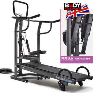跑步機│4in1多功能踏步機美腿機扭腰盤扭扭盤伏地挺身器材推薦哪裡買【BODY SCULPTURE】