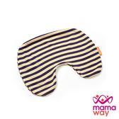 【mamaway媽媽餵】氧化鋅條紋寶貝枕套