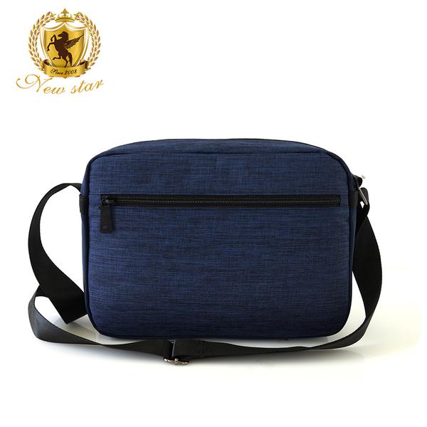 側背包 時尚拼接防水前口袋斜背包 NEW STAR BL135