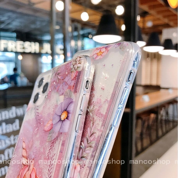 粉獨角獸 OPPO A53 A72 A31 A9 A5 2020 流沙手機殼 卡通手機套 網紅同款 全包邊軟殼 防摔殼