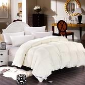 羽絨被 寢具-素雅柔軟蓬鬆冬季白鵝絨雙人棉被6色72aa12[時尚巴黎]