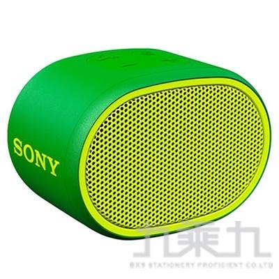 SONY 攜帶式藍芽喇叭 SRS-XB01 綠