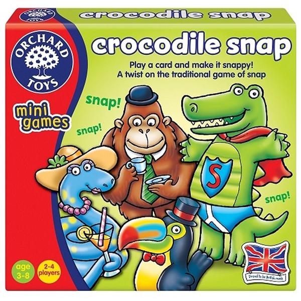 【英國 Orchard Toys】兒童桌遊-配對遊戲 鱷魚出沒 OT-356 Crocodile Snap