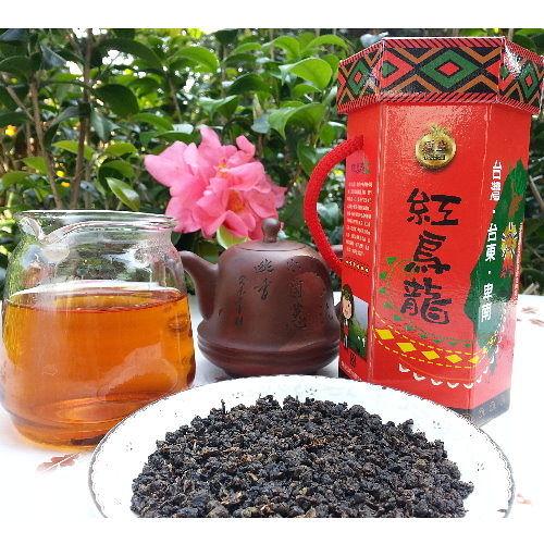 有機佳芳紅烏龍茶150g/罐