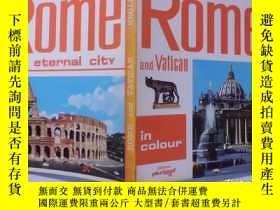 二手書博民逛書店rome罕見and vatican 羅馬和梵蒂岡 e12-1Y2