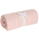 mothercare-洞洞毯-大棉毯-粉紅
