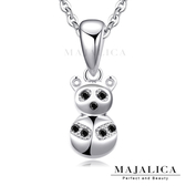 925純銀項鍊 Majalica 純銀飾「俏皮熊貓」單個價格* 附保證卡