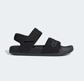 Adidas ADILETTE SANDAL男女款黑色涼拖鞋-NO.F35417