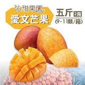 沁甜果園SSN.屏東枋山愛文芒果5台斤(9-11粒/箱,共2箱)﹍愛食網