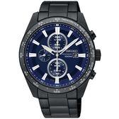 SEIKO 精工錶 Criteria 太陽能 藍寶石水晶鏡面 計時碼錶 SSC655P1 熱賣中!