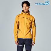 【西班牙TERNUA】男Power stretch pro 保暖外套1642900 / 城市綠洲(Polartec、刷毛、透氣、快乾)