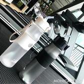 女士水杯便攜式大容量運動水壺騎行戶外室內健身專用杯子 莫妮卡小屋