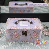 首飾盒女公主簡約歐式手飾品首飾收納盒韓國大容量項鍊耳釘整理盒